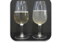 obr. 1 cire vino a vino so zakalom